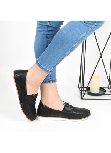 Polaris 161540 Ortapedik Bayan Günlük Ayakkabı Siyah